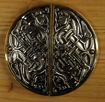 "Belt buckle  ""  Celtic Twin """
