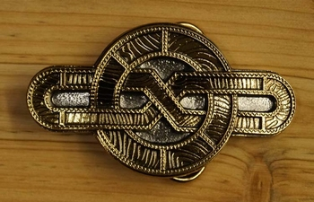"Belt buckle  "" Celtic eight """
