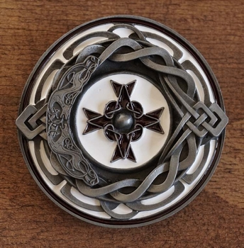 "Buckle / gesp  "" Celtic kruis """