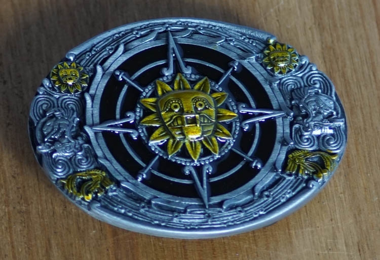 "Buckle ""  Mexicaanse  Aztec design """