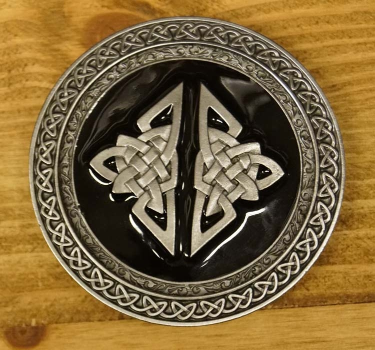 "Buckle / gesp  "" Celtic two knot """