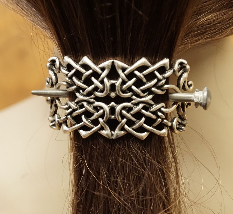 """Haarspeld  """" Celtic two knots """""""